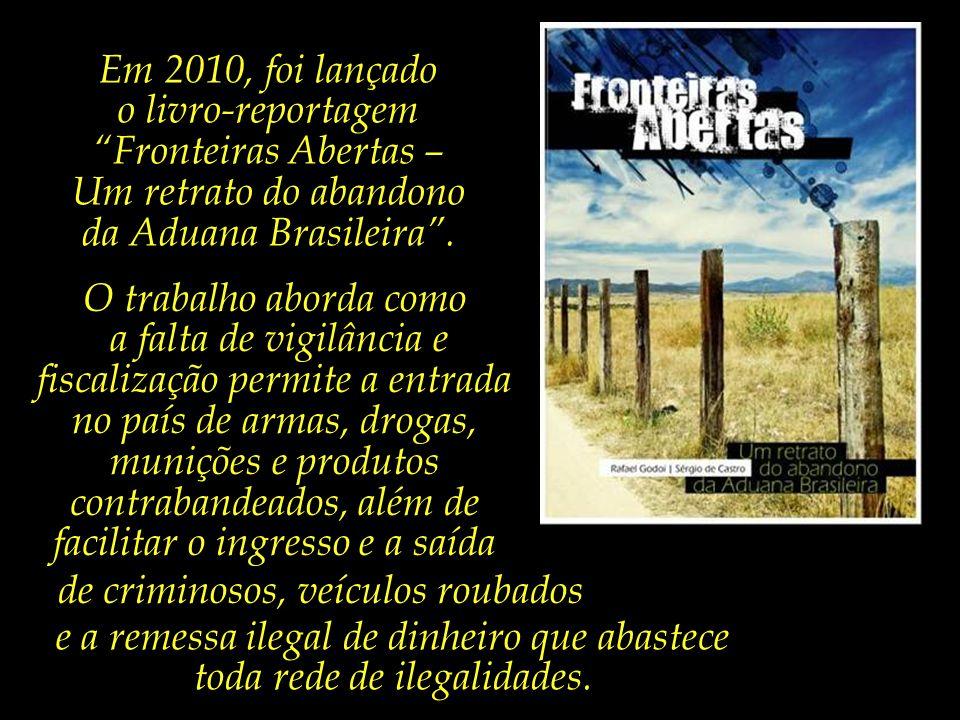 o livro-reportagem Fronteiras Abertas –