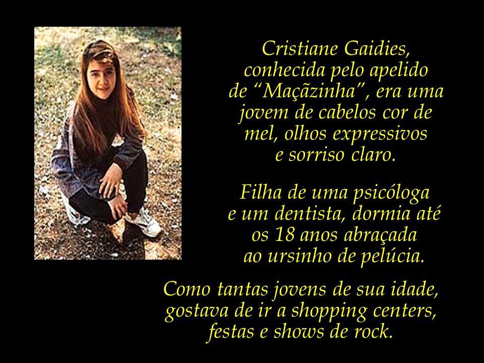 Cristiane Gaidies, conhecida pelo apelido