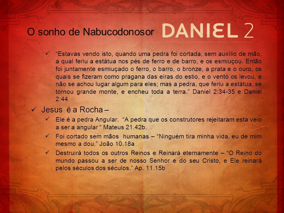 O sonho de Nabucodonosor