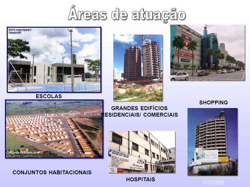 GRANDES EDIFÍCIOS RESIDENCIAIS/ COMERCIAIS CONJUNTOS HABITACIONAIS