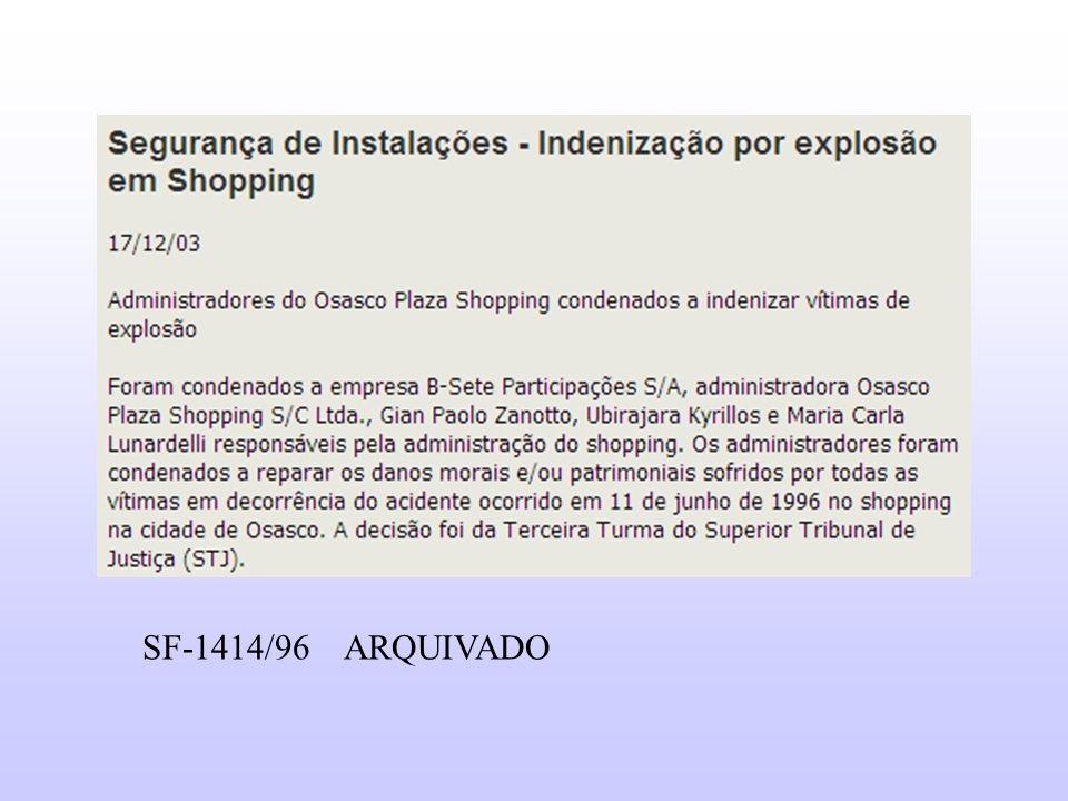 SF-1414/96 ARQUIVADO
