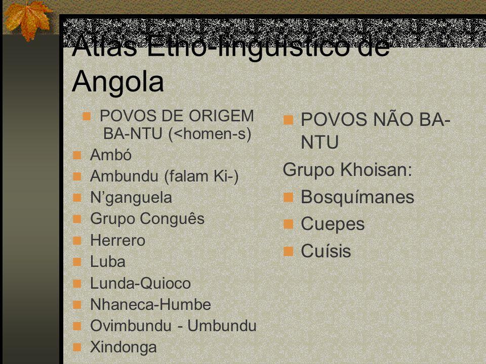 Atlas Etno-linguístico de Angola