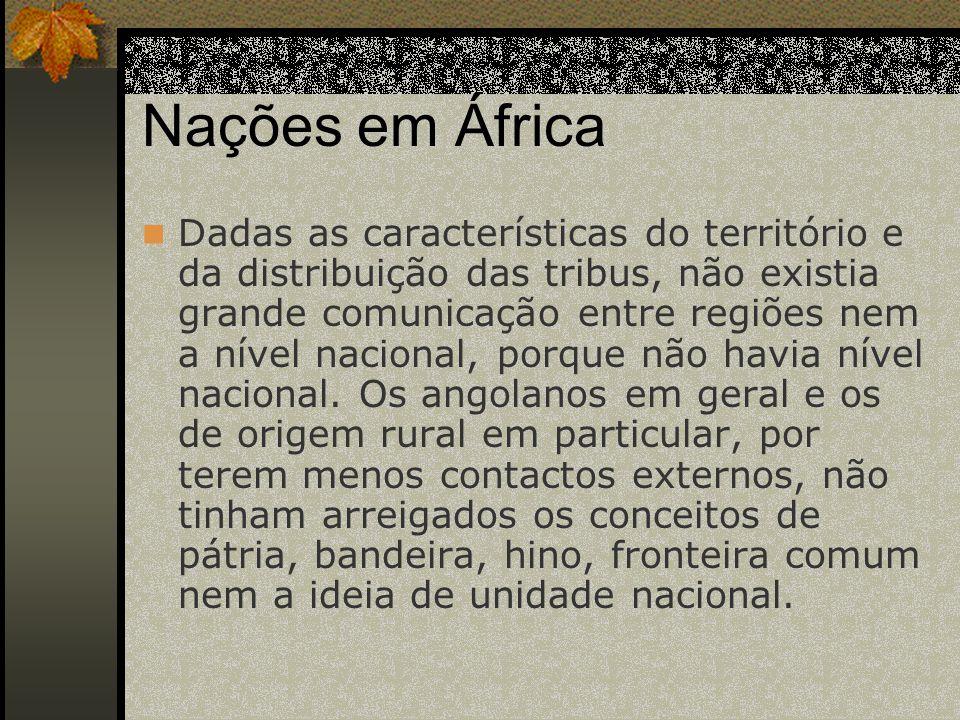 Nações em África