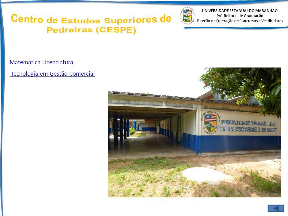 Centro de Estudos Superiores de Pedreiras (CESPE)