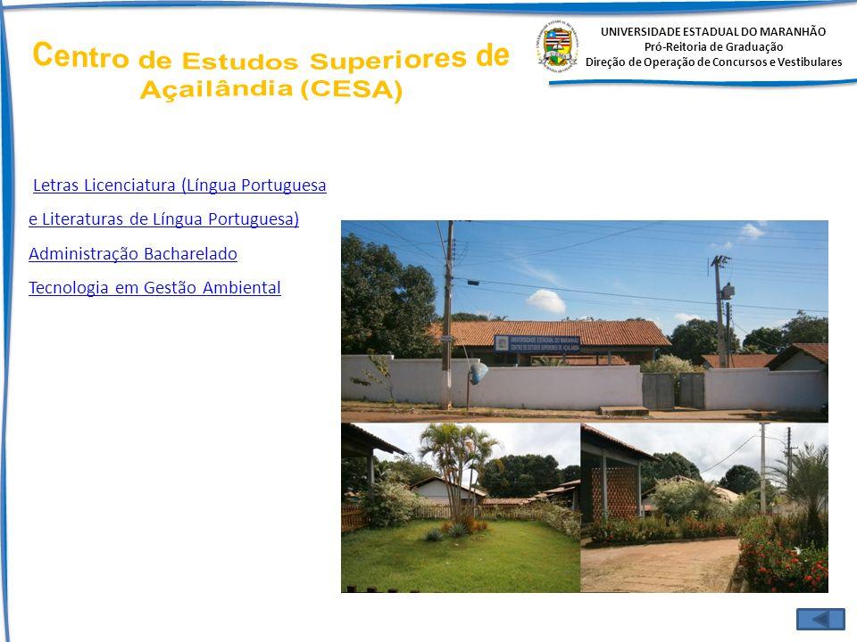 Centro de Estudos Superiores de Açailândia (CESA)