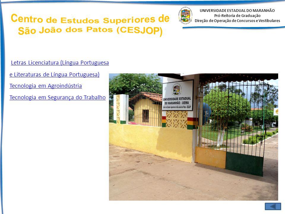 Centro de Estudos Superiores de São João dos Patos (CESJOP)