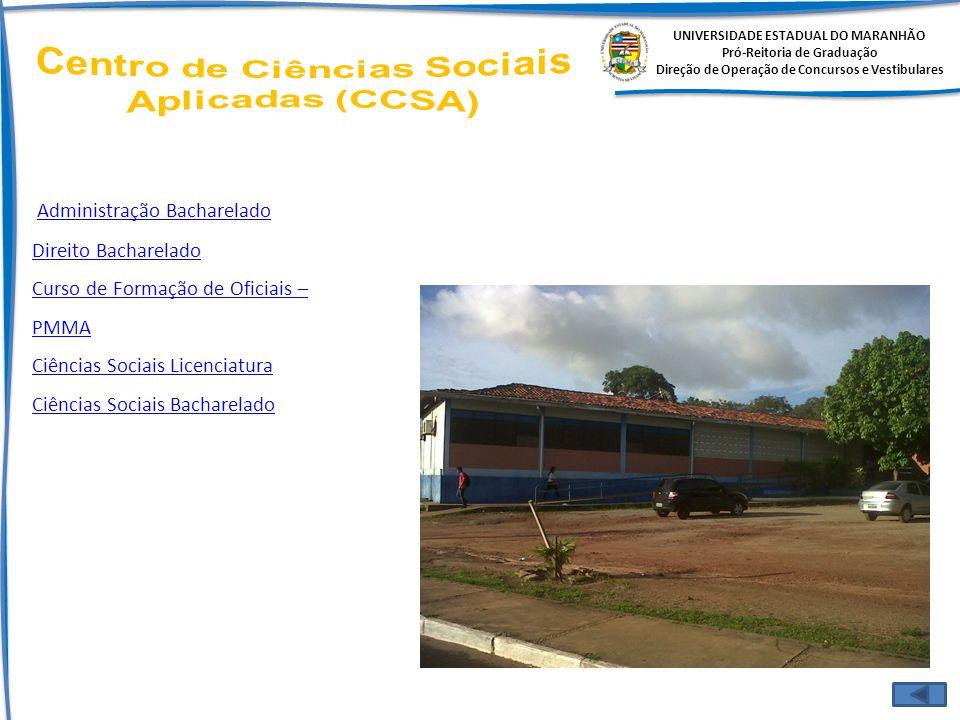 Centro de Ciências Sociais Aplicadas (CCSA)