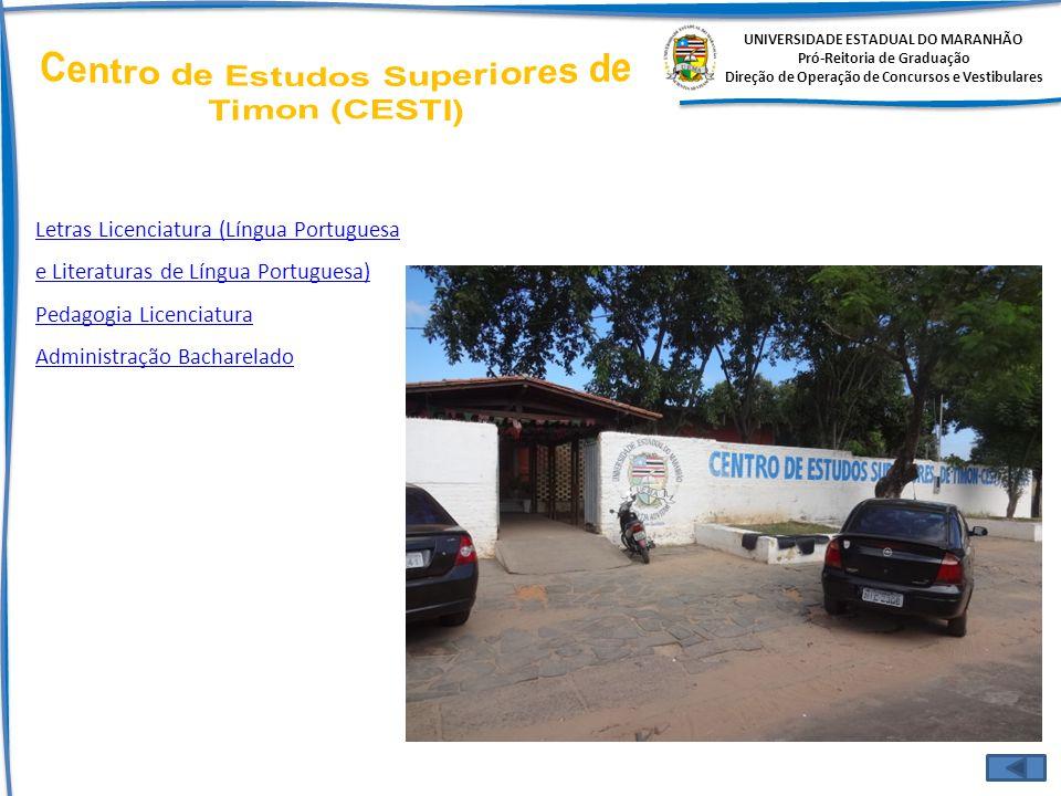 Centro de Estudos Superiores de Timon (CESTI)