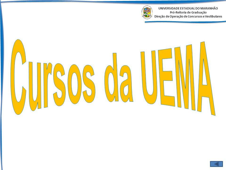 Cursos da UEMA UNIVERSIDADE ESTADUAL DO MARANHÃO