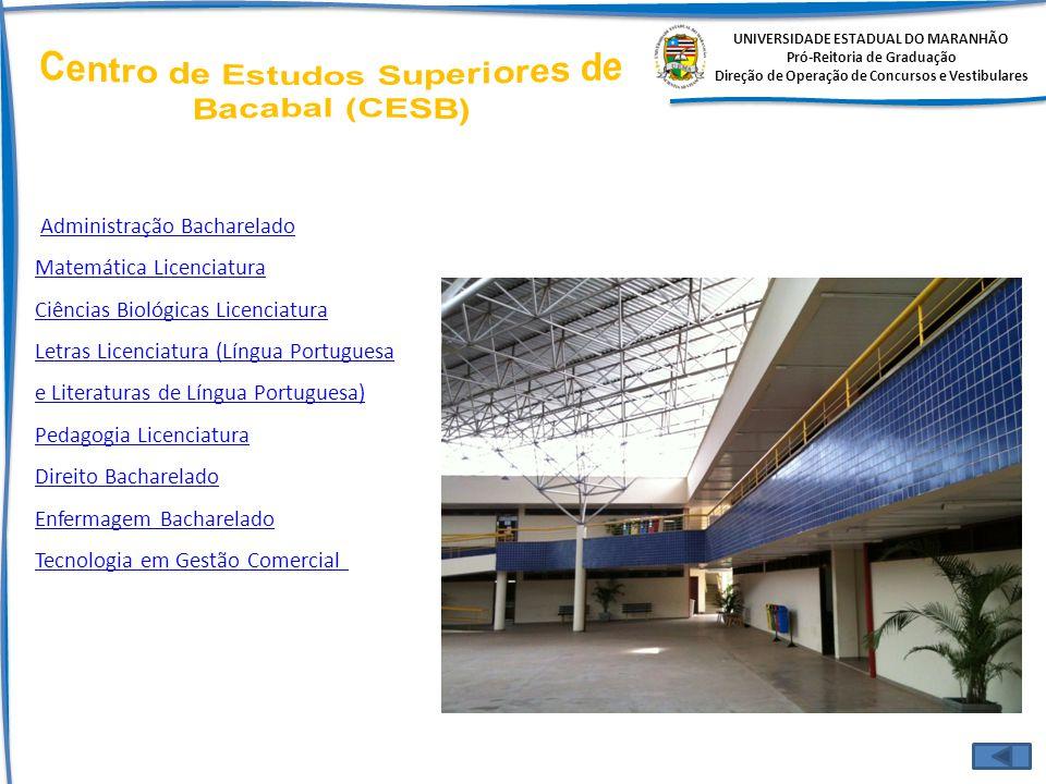 Centro de Estudos Superiores de Bacabal (CESB)