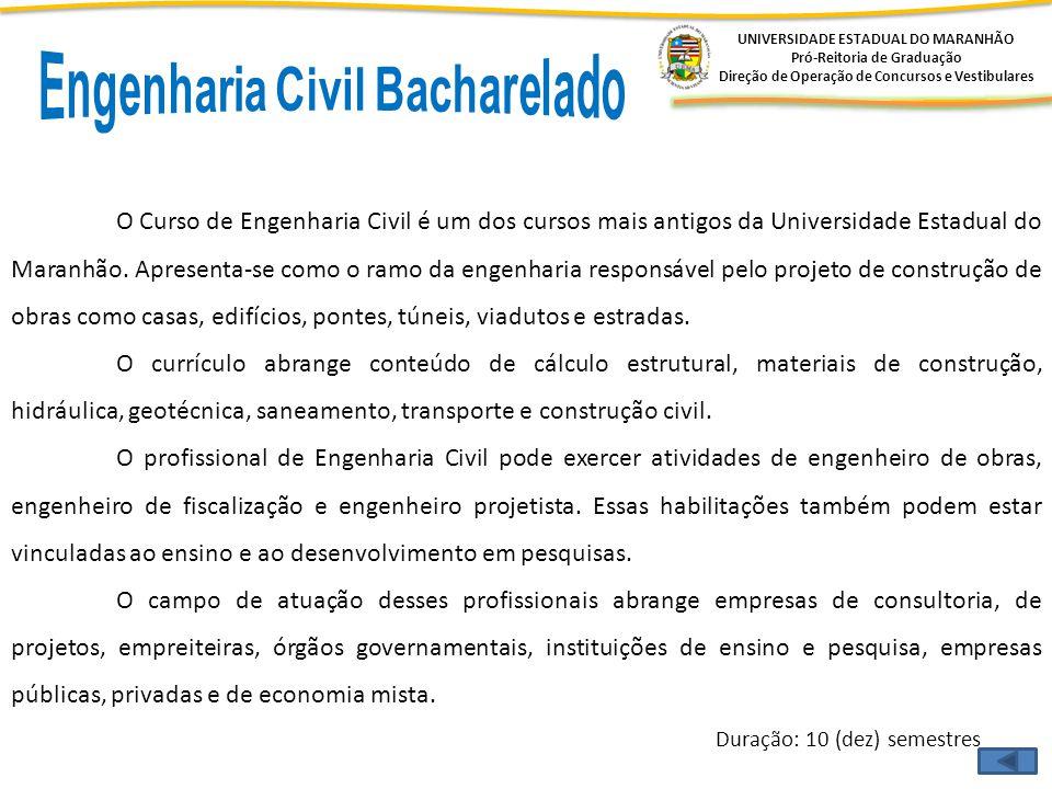 Engenharia Civil Bacharelado