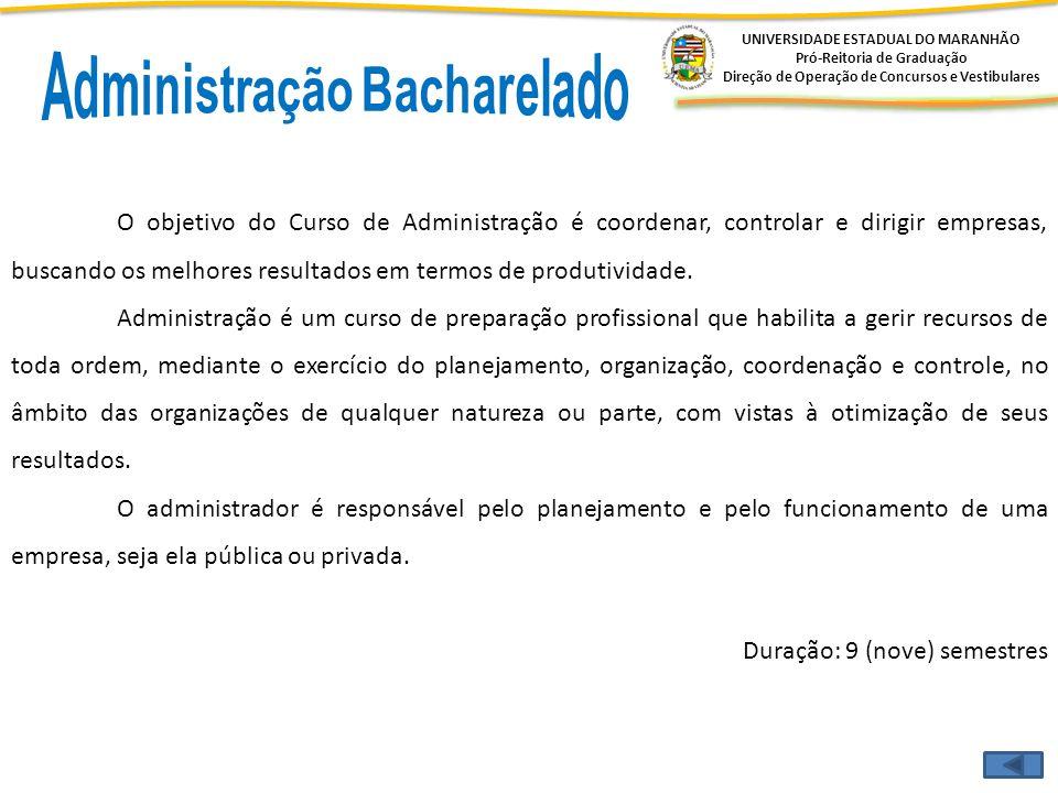 Administração Bacharelado