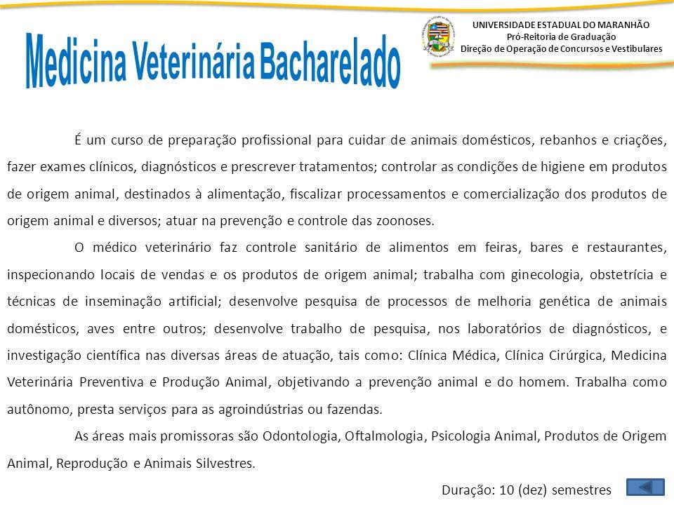 Medicina Veterinária Bacharelado