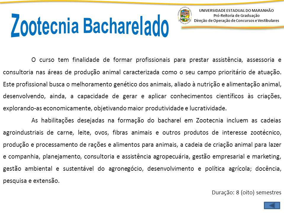 Zootecnia Bacharelado