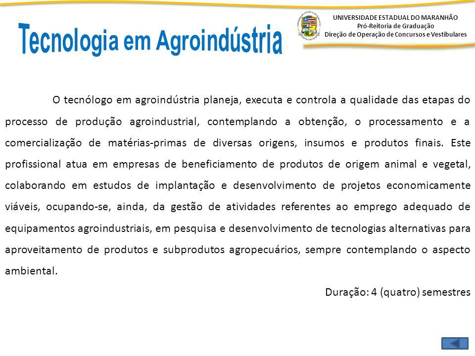 Tecnologia em Agroindústria