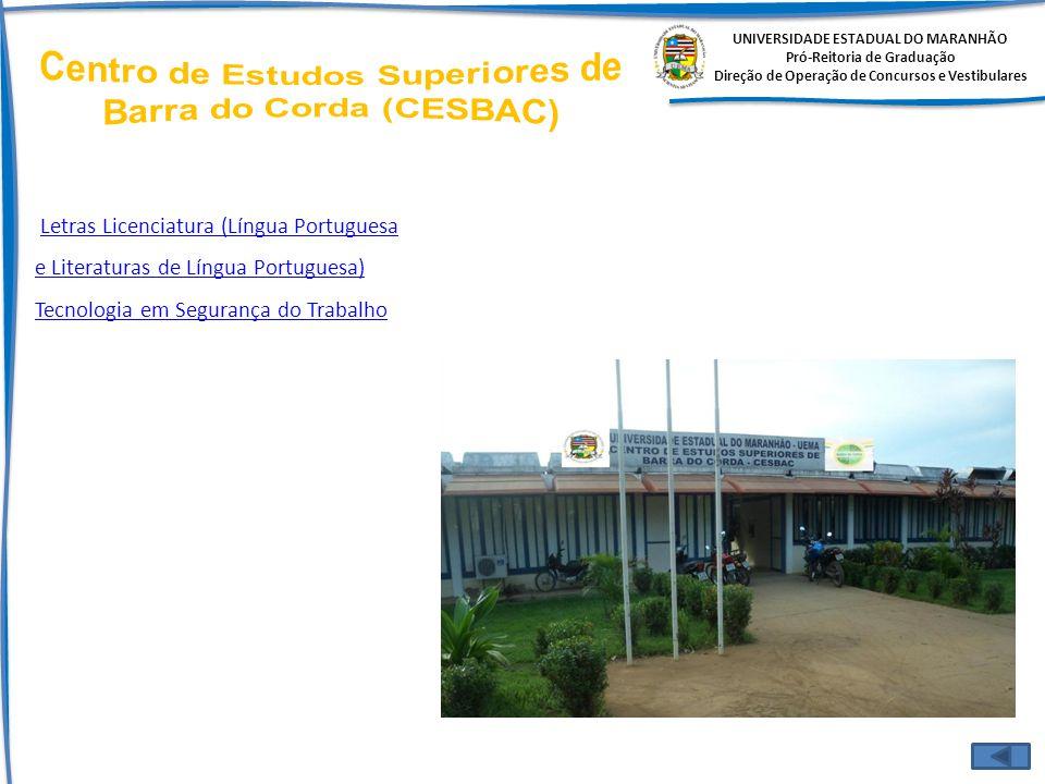 Centro de Estudos Superiores de Barra do Corda (CESBAC)