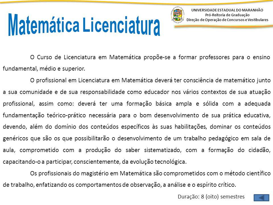 Matemática Licenciatura