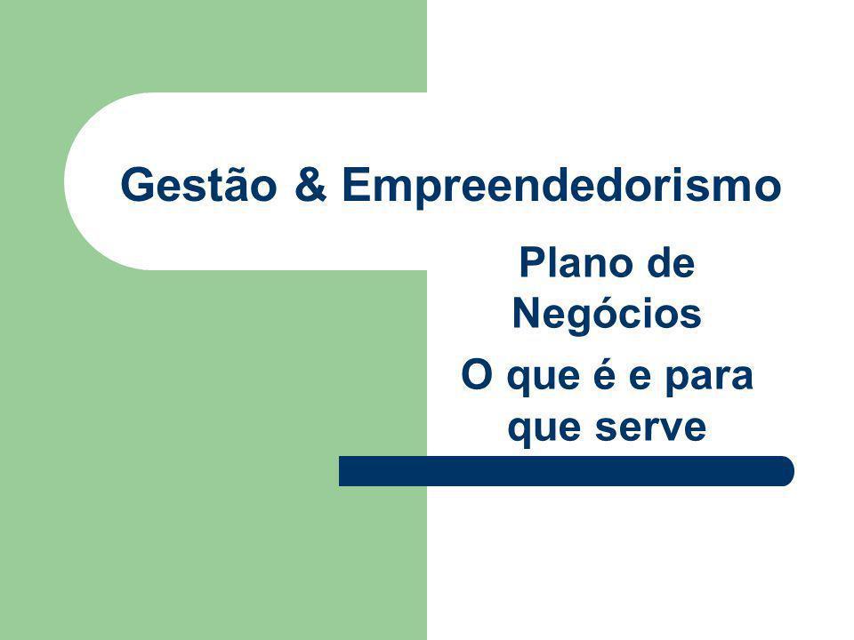 Gestão & Empreendedorismo