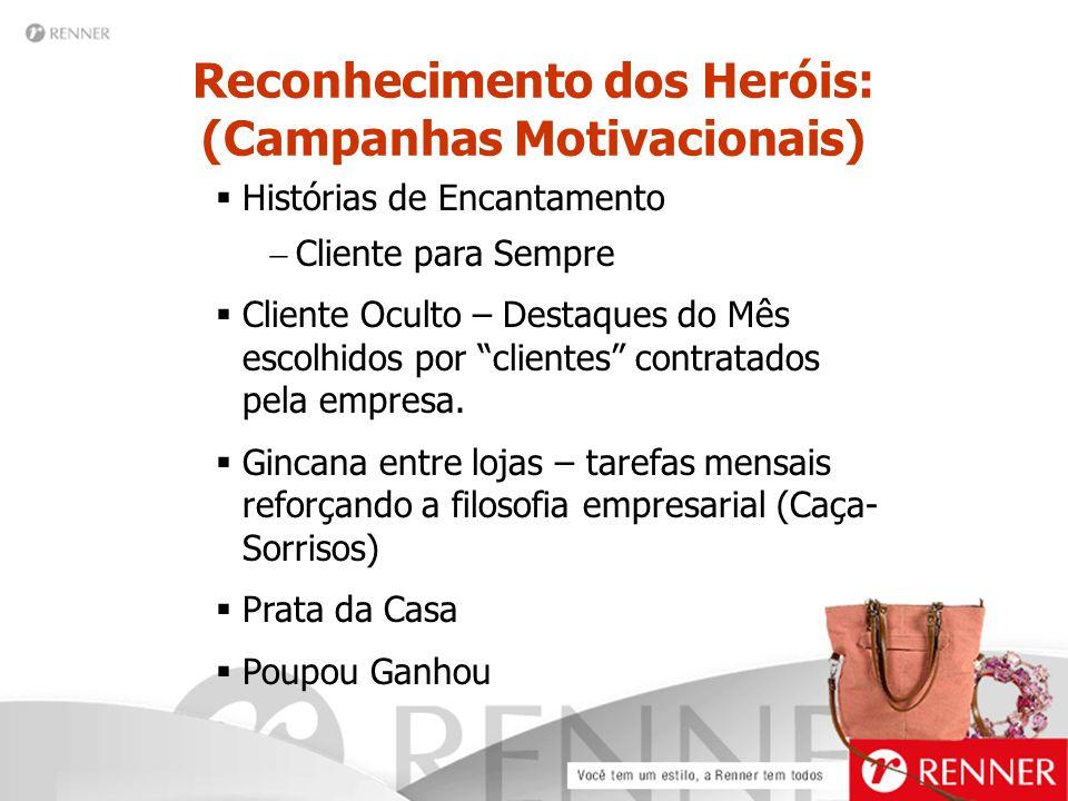 Reconhecimento dos Heróis: (Campanhas Motivacionais)