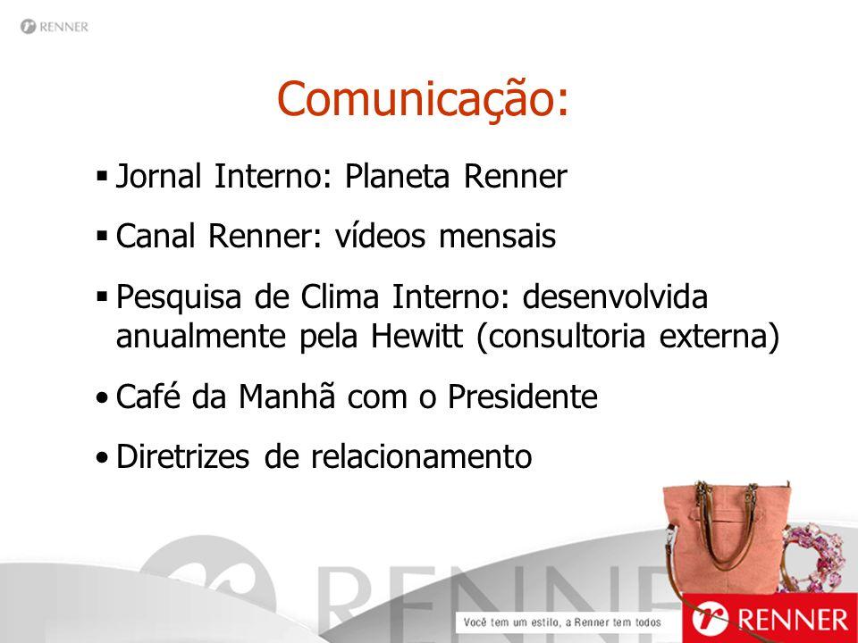 Comunicação: Jornal Interno: Planeta Renner