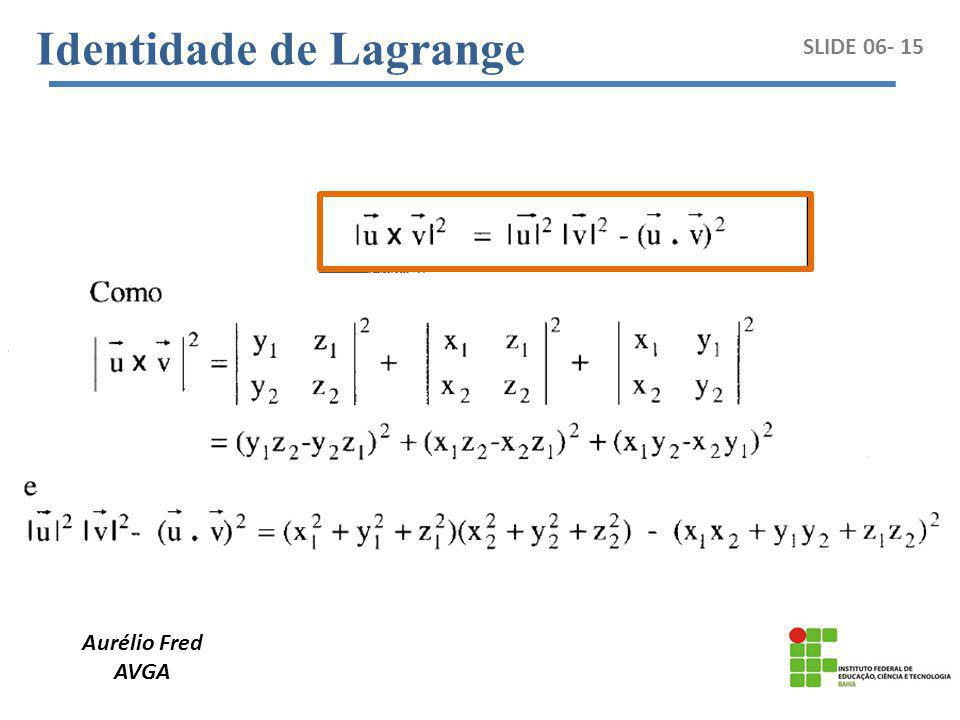 Identidade de Lagrange