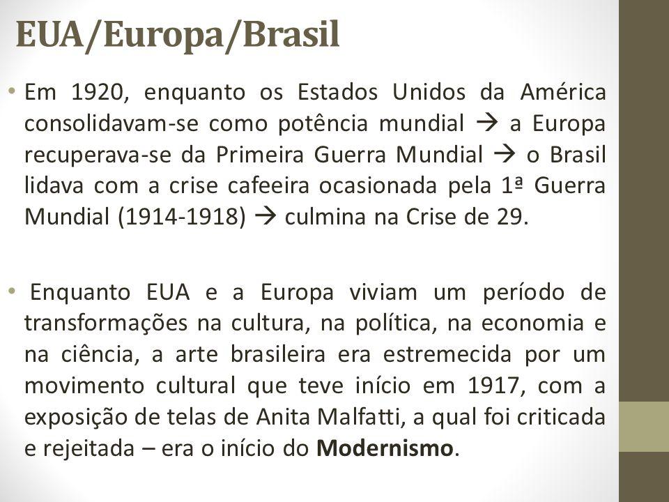 EUA/Europa/Brasil