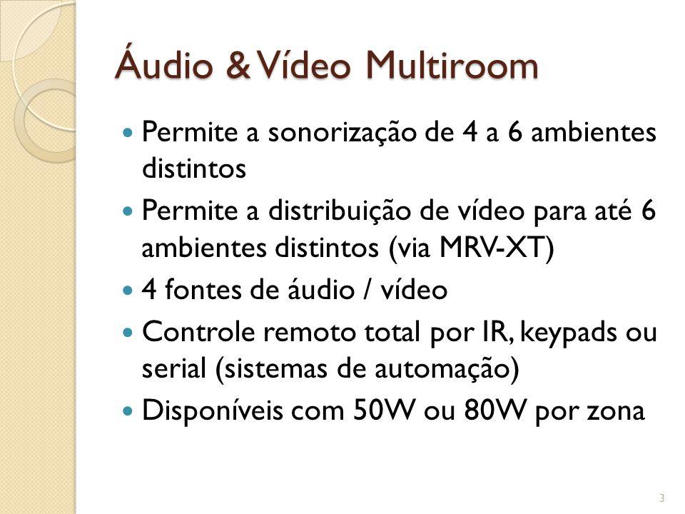 Áudio & Vídeo Multiroom