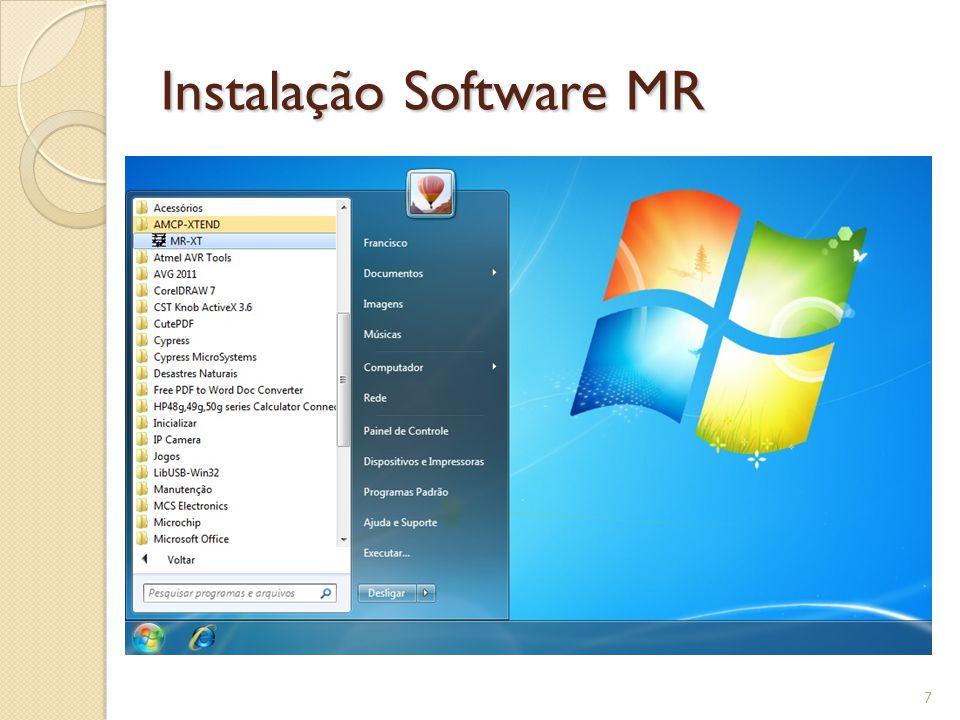 Instalação Software MR