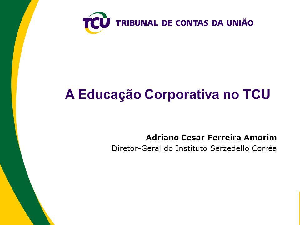 A Educação Corporativa no TCU