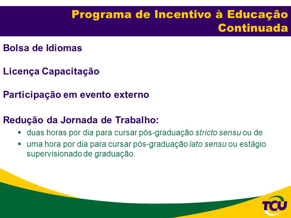 Programa de Incentivo à Educação Continuada