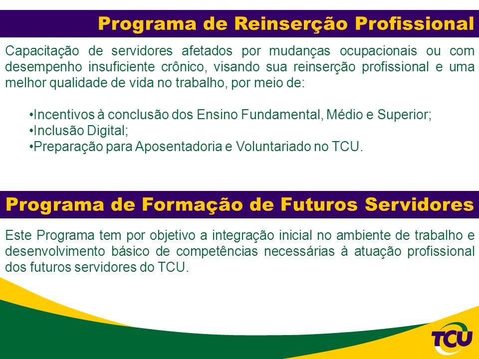 Programa de Reinserção Profissional