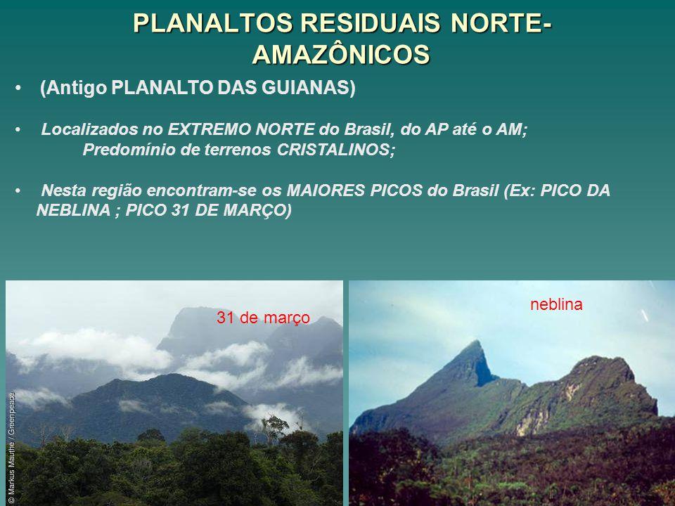 PLANALTOS RESIDUAIS NORTE-AMAZÔNICOS