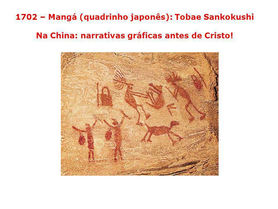 1702 – Mangá (quadrinho japonês): Tobae Sankokushi