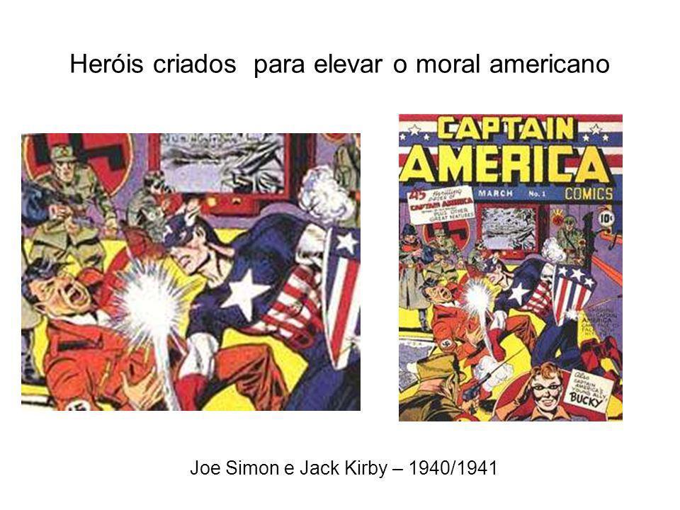 Heróis criados para elevar o moral americano