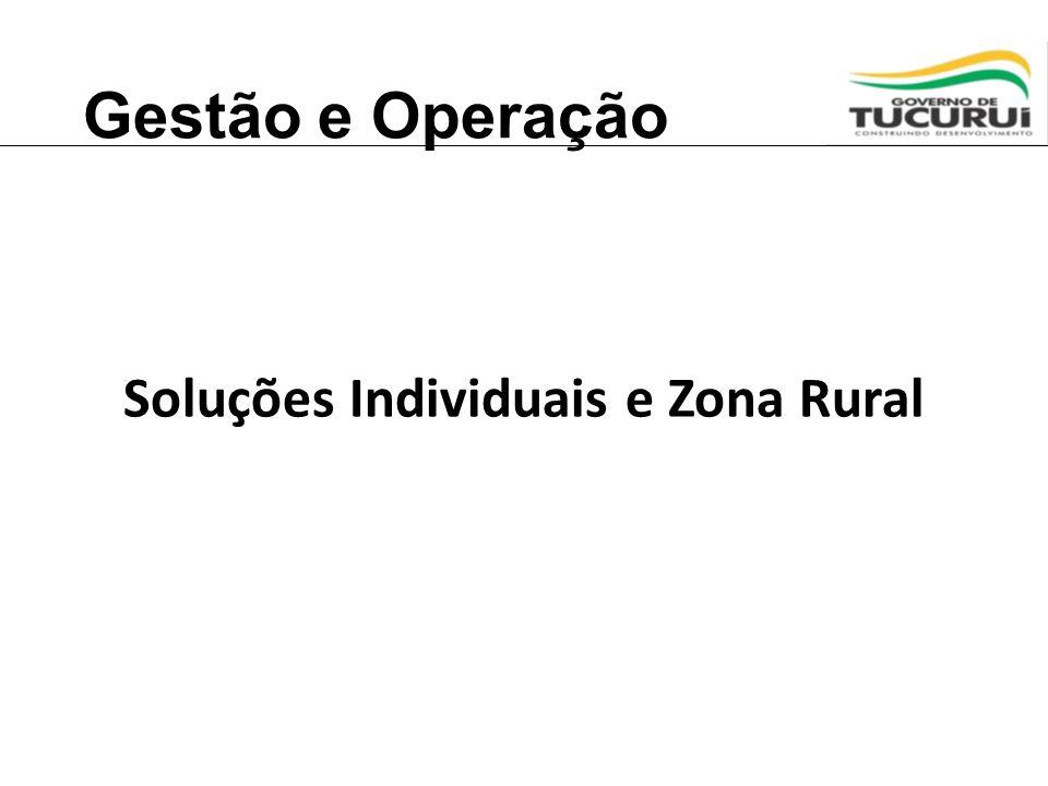 Soluções Individuais e Zona Rural