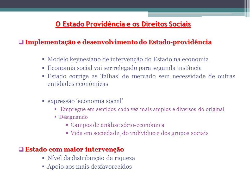 O Estado Providência e os Direitos Sociais