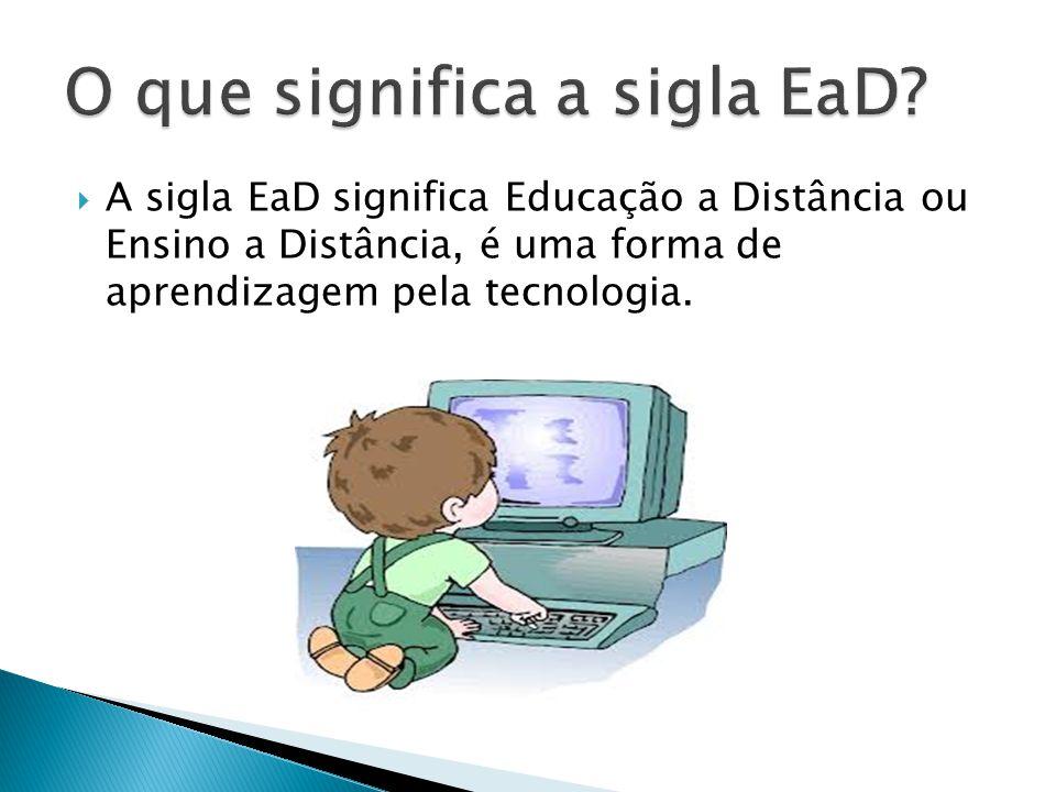 O que significa a sigla EaD