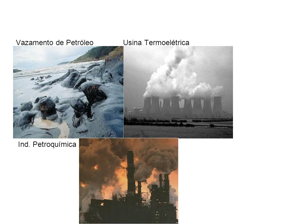 Vazamento de Petróleo Usina Termoelétrica