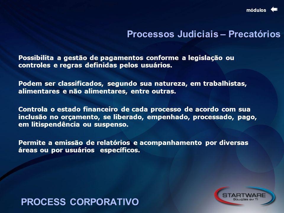 Processos Judiciais – Precatórios