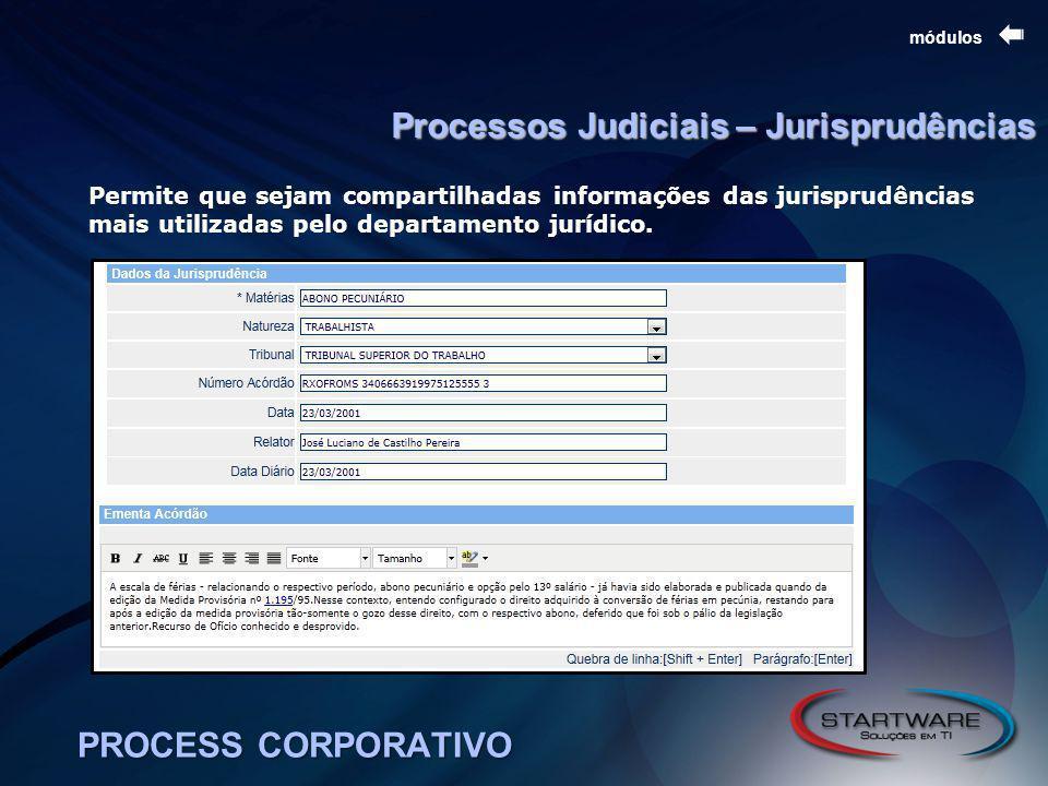 Processos Judiciais – Jurisprudências