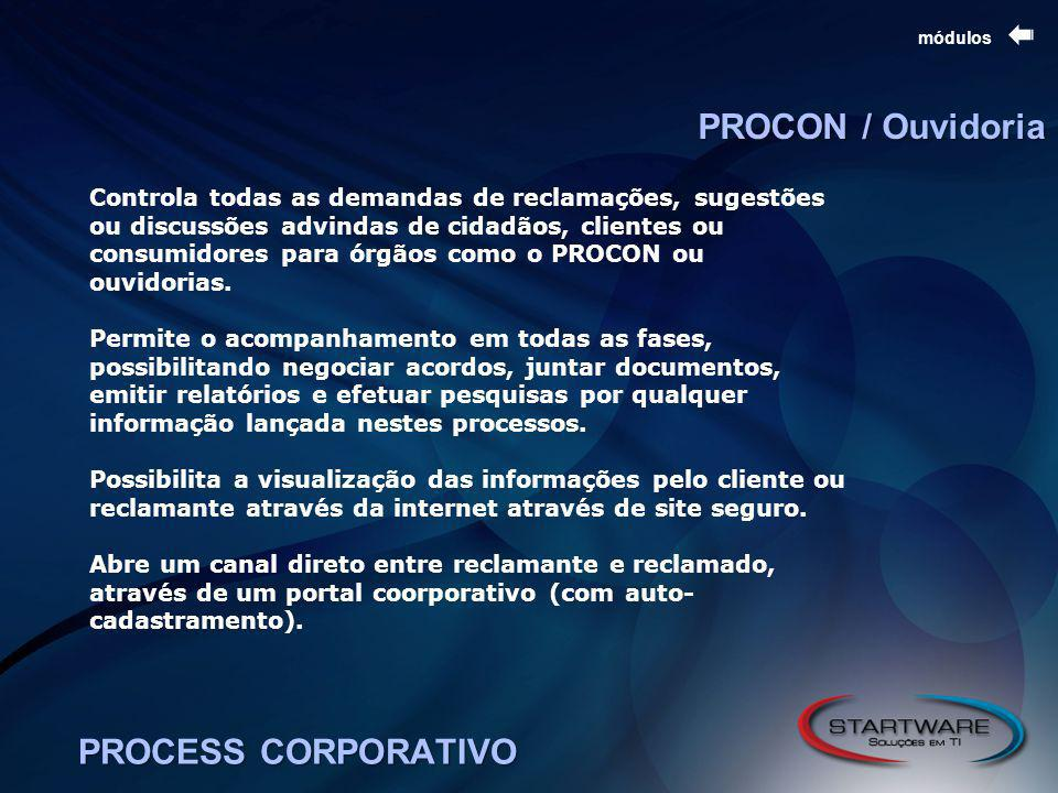 PROCON / Ouvidoria PROCESS CORPORATIVO