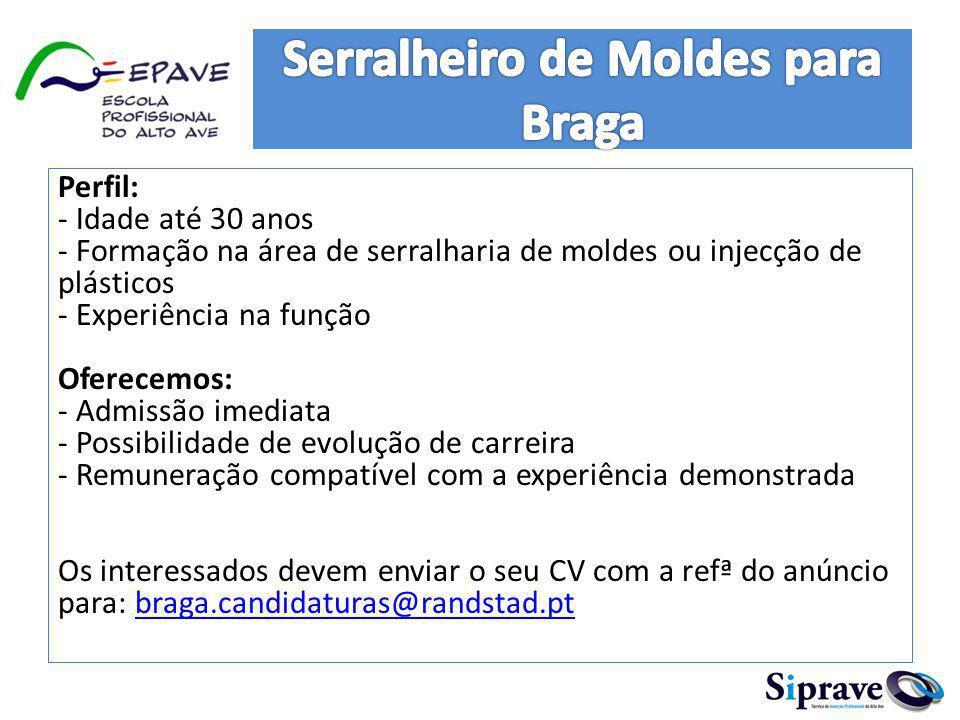 Serralheiro de Moldes para Braga