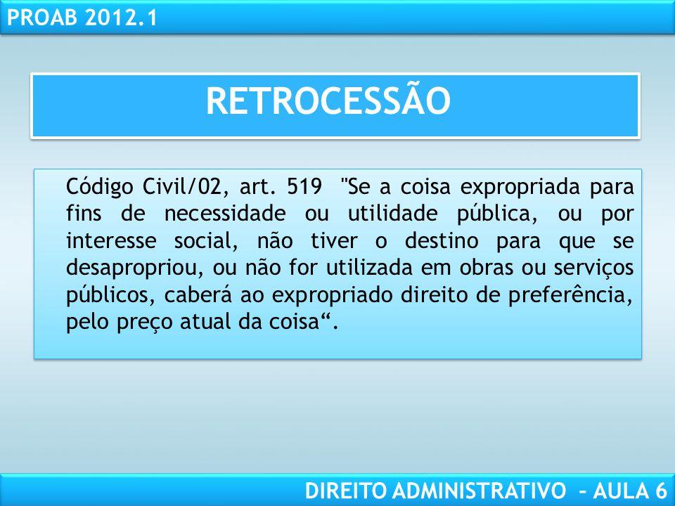 RETROCESSÃO