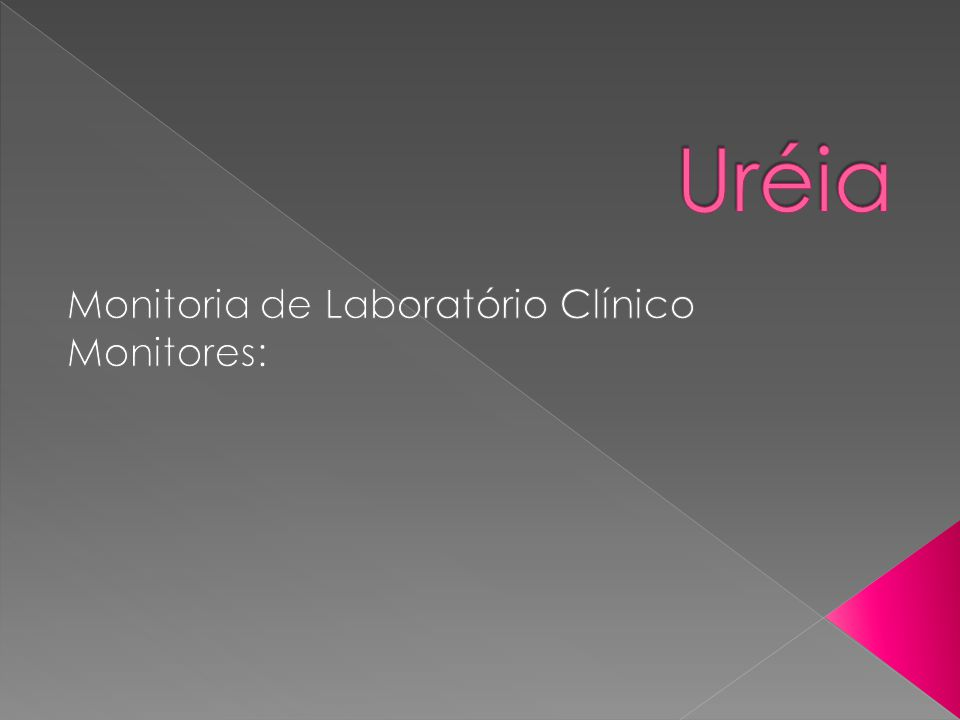 Monitoria de Laboratório Clínico Monitores: