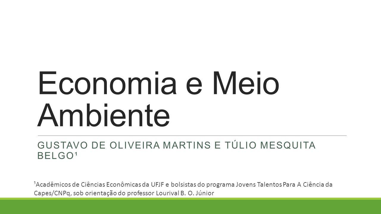 Economia e Meio Ambiente