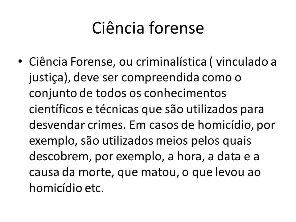 Ciência forense