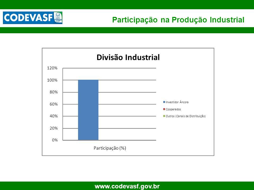 Participação na Produção Industrial