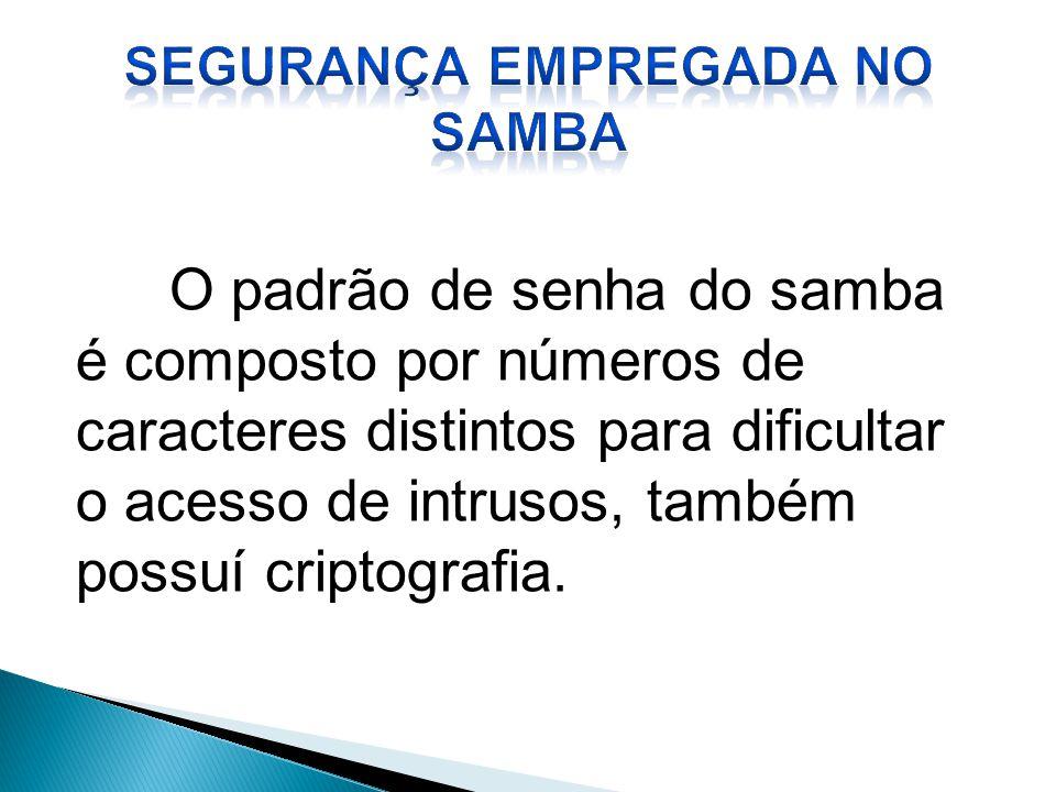 Segurança empregada no Samba