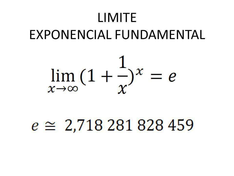 EXPONENCIAL FUNDAMENTAL