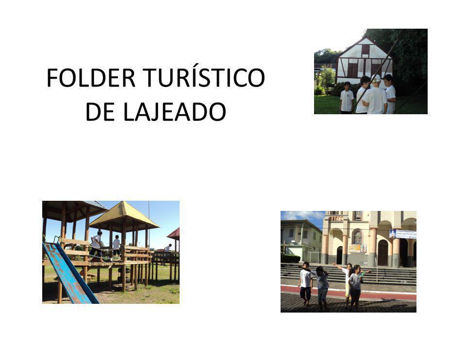 FOLDER TURÍSTICO DE LAJEADO